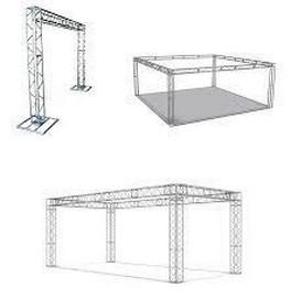 aluguel de estrutura de alumínio
