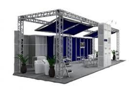 estrutura de alumínio para stands