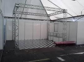estruturas de alumínio box truss