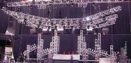 estruturas de alumínio para palco