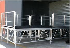 fábrica de palcos de alumínio