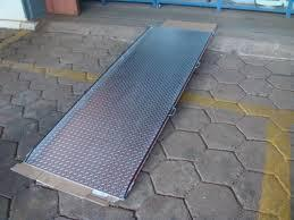 fábrica de rampas de alumínio