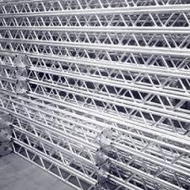 fábrica de treliças de alumínio
