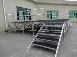 fabricante de estruturas de alumínio para palcos