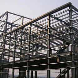 Prédios de estrutura metálica