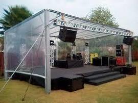 locação de estruturas de alumínio para palcos