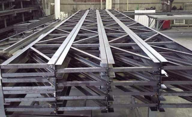 Estruturas metálicas para telhado