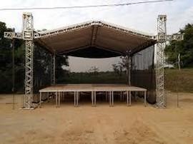 palco praticável em alumínio