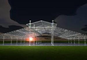 estrutura de alumínio para iluminação