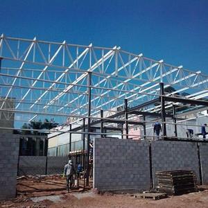 Estruturas metálicas para coberturas